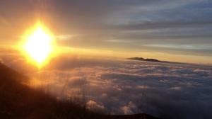 SunRise 18 Agustus 2013 di Gunung Guntur